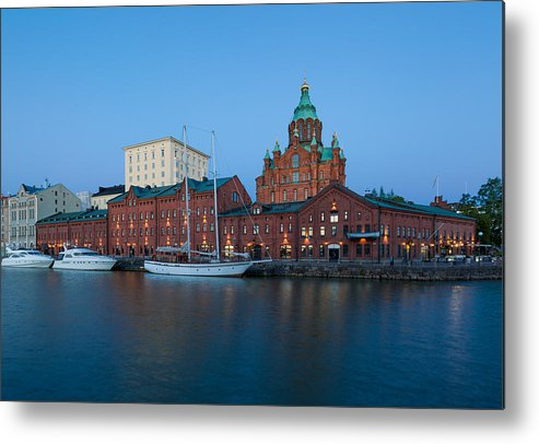 Architecture Metal Print featuring the photograph Uspenski Cathedral by Johannes Valkama