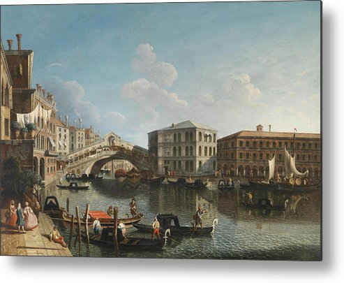 Michele Marieschi Metal Print featuring the painting Venice by MotionAge Designs
