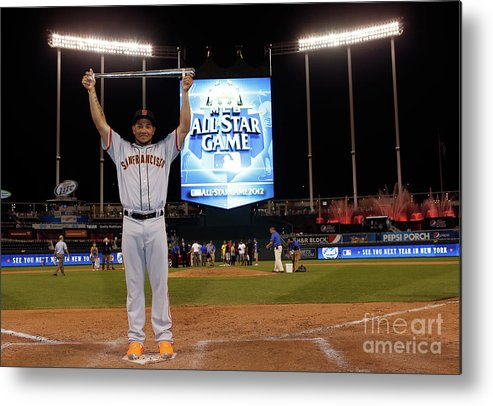 American League Baseball Metal Print featuring the photograph 83rd Mlb All-star Game 1 by Jamie Squire