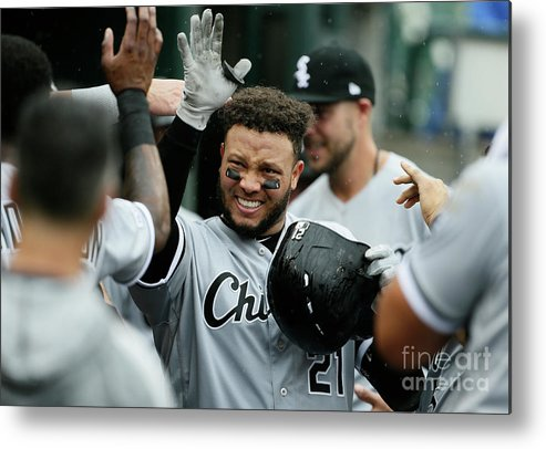 People Metal Print featuring the photograph Chicago White Sox V Detroit Tigers - 12 by Duane Burleson