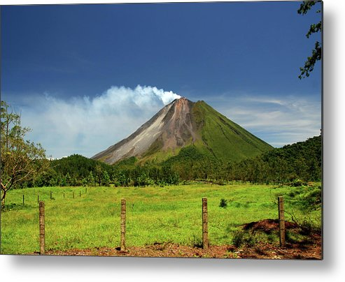 Scenics Metal Print featuring the photograph Arenal Volcano - Costa Rica by Titoslack