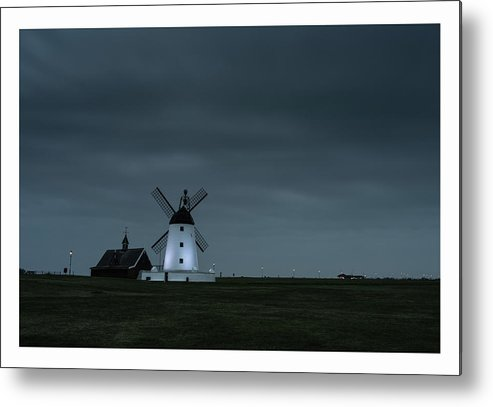 Lytham Metal Print featuring the photograph Windmill by Mark Mc neill
