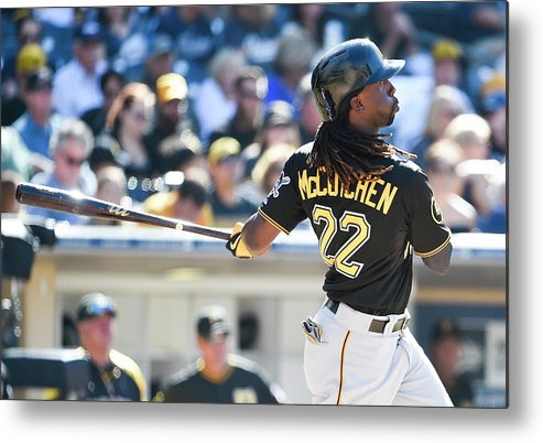 California Metal Print featuring the photograph Andrew Mccutchen by Denis Poroy