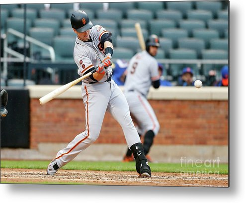 People Metal Print featuring the photograph Buster Posey by Jim Mcisaac