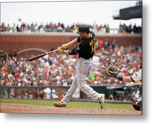 San Francisco Metal Print featuring the photograph Neil Walker by Ezra Shaw