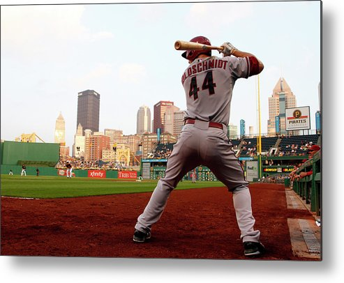 Professional Sport Metal Print featuring the photograph Paul Goldschmidt by Justin K. Aller