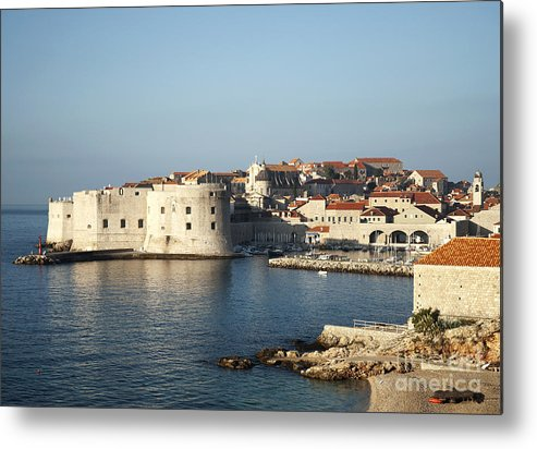 Adriatic Metal Print featuring the photograph Dubrovnik In Croatia by Jacek Malipan