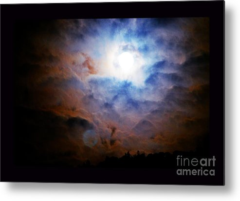 Night Sky Metal Print featuring the photograph A Celestial Harmonic by Susanne Still