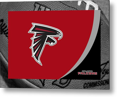 Falcons Metal Print featuring the photograph Atlanta Falcons by Joe Hamilton