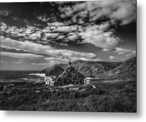 Cape Cornwall Metal Print featuring the photograph Cape Cornwall by Graham Moore