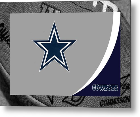 Cowboys Metal Print featuring the photograph Dallas Cowboys by Joe Hamilton