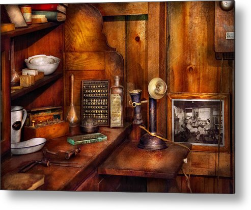 Dentist Metal Print featuring the photograph Dentist - Time For Your Next Appointment by Mike Savad