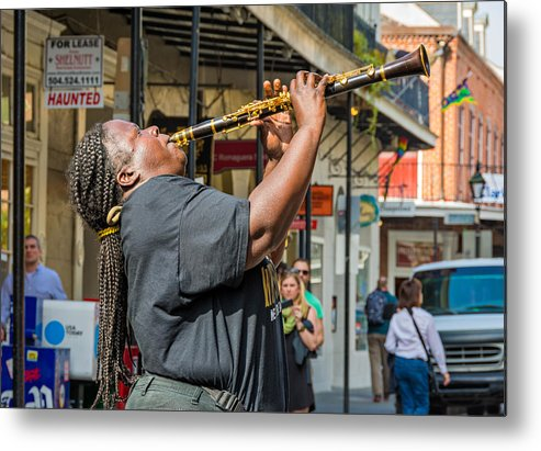 French Quarter Metal Print featuring the photograph Doreen Ketchens 2 by Steve Harrington