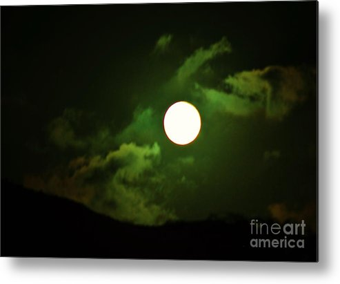 Dragons Metal Print featuring the photograph Friday The 13th Moon And Dragons by Craig Wood