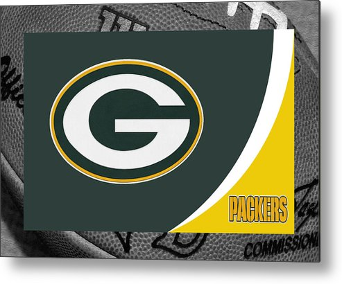 Packers Metal Print featuring the photograph Green Bay Packers by Joe Hamilton