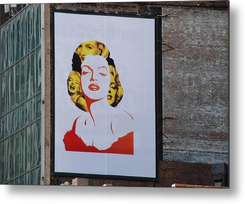 Marilyn Monroe Metal Print featuring the photograph Marilyn Monroe by Rob Hans