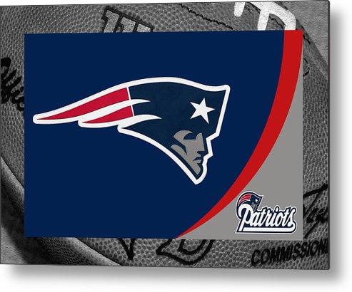 Patriots Metal Print featuring the photograph New England Patriots by Joe Hamilton