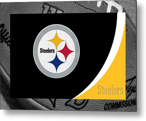 Steelers Metal Print featuring the photograph Pittsburgh Steelers by Joe Hamilton