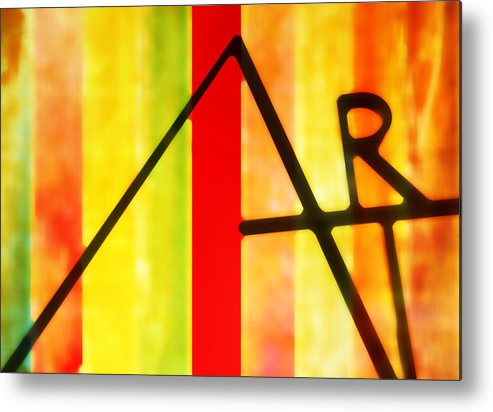Art Metal Print featuring the photograph Pure Art by David Kuhn