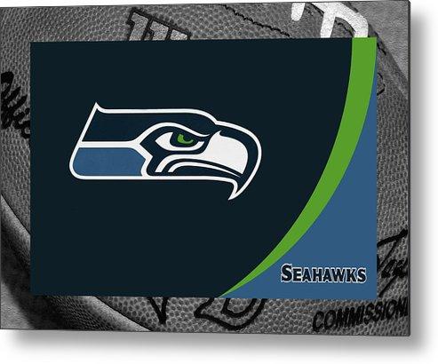 Seahawks Metal Print featuring the photograph Seattle Seahawks by Joe Hamilton