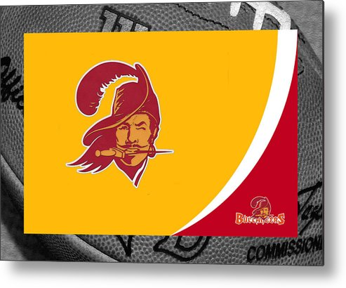Buccaneers Metal Print featuring the photograph Tampa Bay Buccaneers by Joe Hamilton