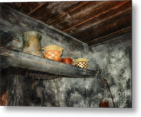 Photo Metal Print featuring the photograph Above The Stove by Jutta Maria Pusl