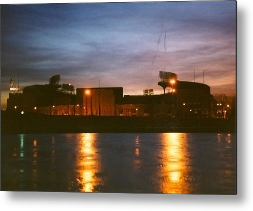 Cleveland Metal Print featuring the photograph Old Yet Colorful by Kenneth Krolikowski