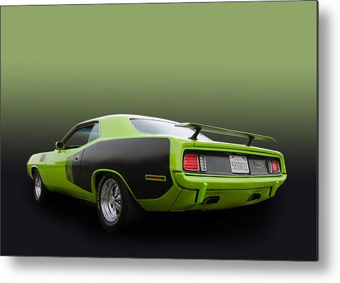 Plymouth Metal Print featuring the photograph 340 Cuda by Bill Dutting