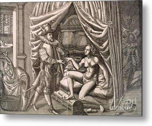 18th Century Metal Print featuring the photograph Chastity Belt by Granger