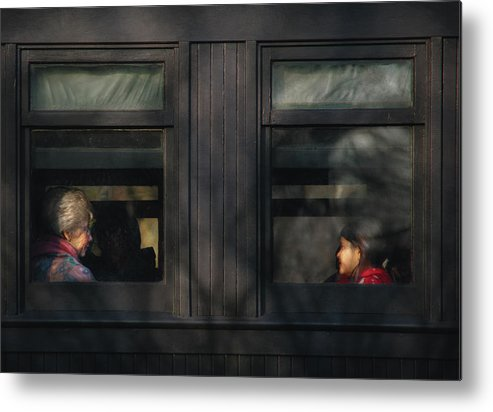 Savad Metal Print featuring the photograph Children - Generations by Mike Savad