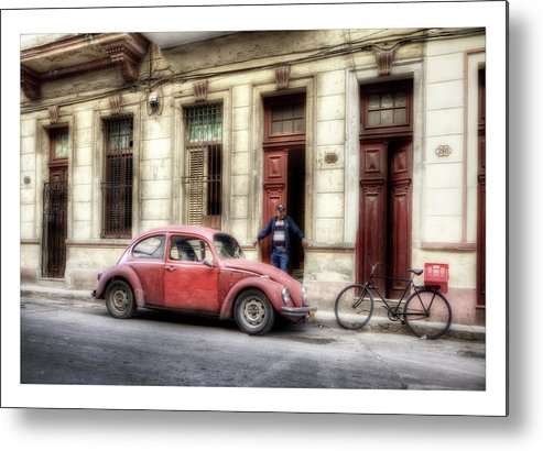 All Metal Print featuring the photograph Cuba 17 by Marco Hietberg
