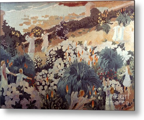 1912 Metal Print featuring the photograph Denis: Paradise, 1912 by Granger