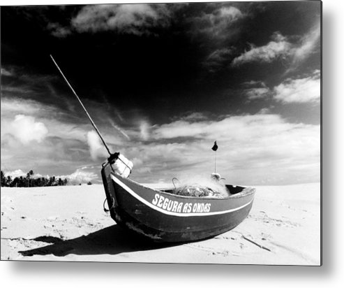 Fisherman Metal Print featuring the photograph Fisherman Boat by Amarildo Correa