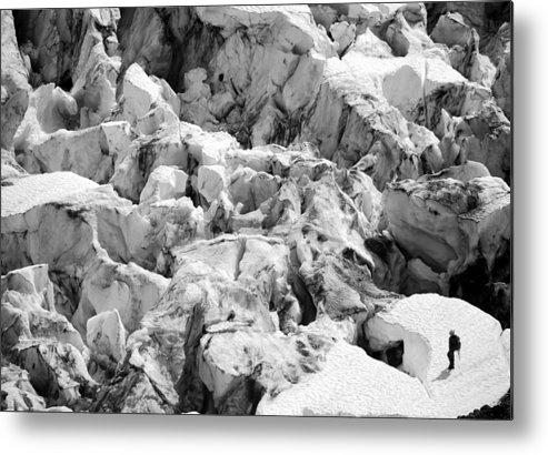 Glacier Metal Print featuring the photograph Glacier Overlook by Alasdair Turner