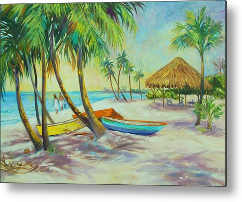 Island Metal Print featuring the painting Island Memories by Dianna Willman