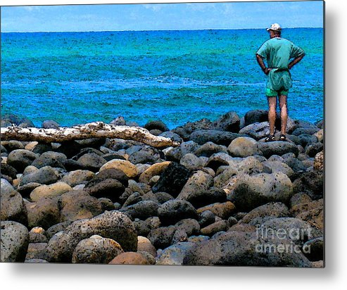 Hawaii Metal Print featuring the photograph Ocean Watch by James Temple