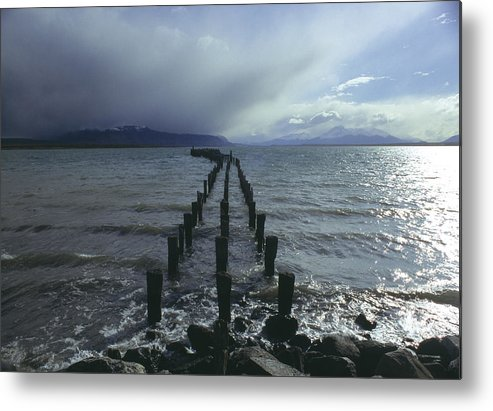 Pier Metal Print featuring the photograph Old Pier by Marcus Best