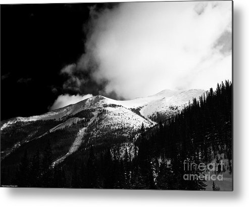 Landscape Metal Print featuring the photograph Pikes Peak Western Slope by John Hermann