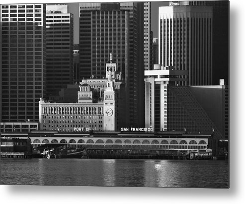 Port Metal Print featuring the photograph Port Of San Francisco by Mick Burkey