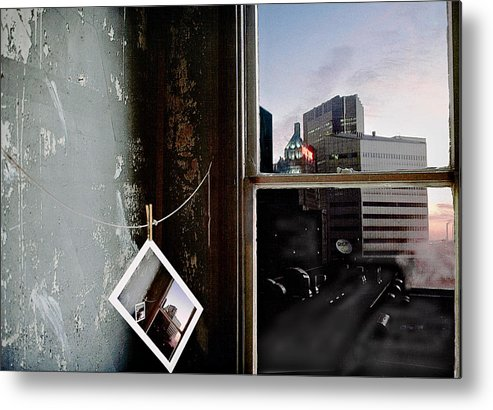 Window Metal Print featuring the photograph Pre-visualization by Peter J Sucy