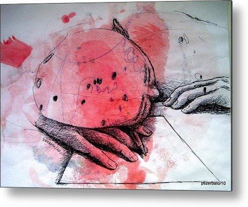 Process Metal Print featuring the digital art Process Of Inspiration by Paulo Zerbato