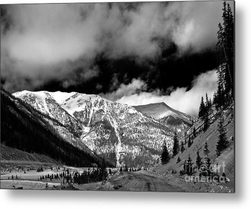Landscape Metal Print featuring the photograph Rocky Mountian High by John Hermann
