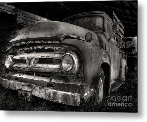 Scotopic Metal Print featuring the photograph Scotopic Vision 6 - 53 Ford by Pete Hellmann