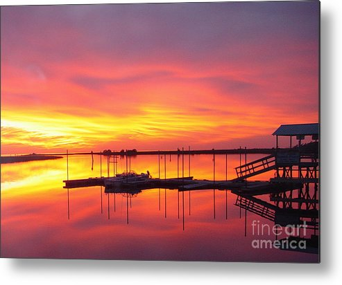 Sunsets Metal Print featuring the photograph Seeing Is Believing by Debbie May