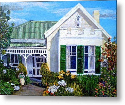 House Metal Print featuring the painting The Old Farm House by Michael Durst