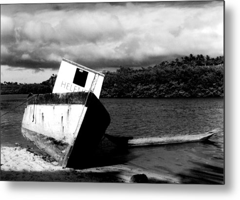 Boat Metal Print featuring the photograph Two Boats by Amarildo Correa