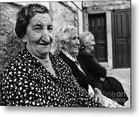 Spain Metal Print featuring the photograph Village Women In Alberca Spain by Arvind Garg