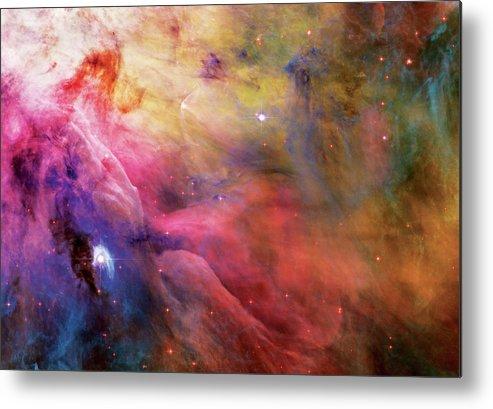 Nebula Metal Print featuring the photograph Warmth - Orion Nebula by Jennifer Rondinelli Reilly - Fine Art Photography