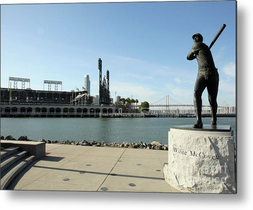 San Francisco Metal Print featuring the photograph Willie Mccovey by Icon Sports Wire