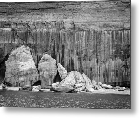 Michigan Metal Print featuring the photograph Pictured Rocks by Stevan Tontich